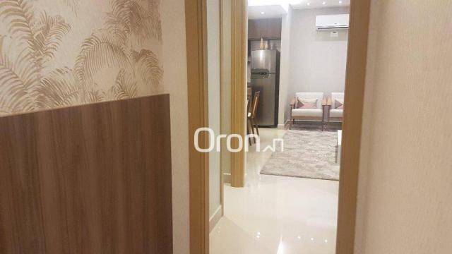 Apartamento com 2 dormitórios à venda, 62 m² por R$ 278.000,00 - Aeroviário - Goiânia/GO - Foto 13