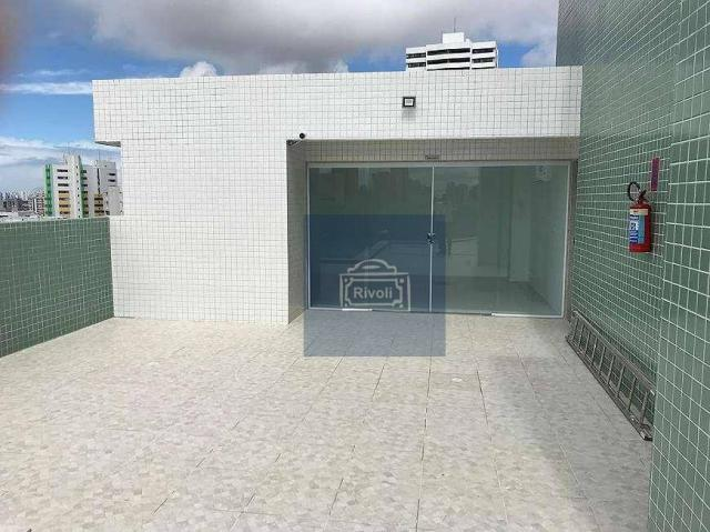 Apartamento com 1 dormitório para alugar, 31 m² por R$ 2.100,00/mês - Graças - Recife/PE - Foto 10