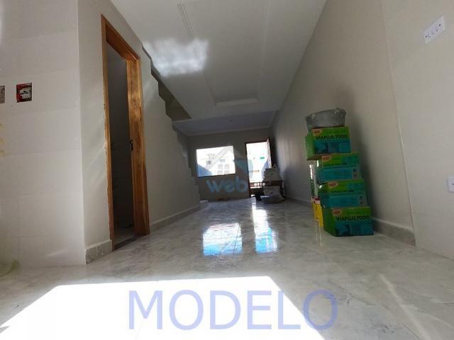 Sobrado à venda com 2 quartos, 72,99 m², terraço, próximo ao Santuário da Divina Misericór - Foto 10