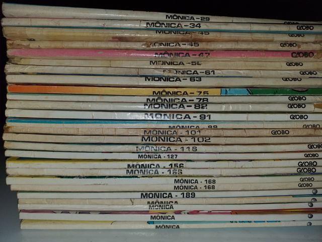 Lote de 83 gibis da Mônica da Editora Globo - Foto 5