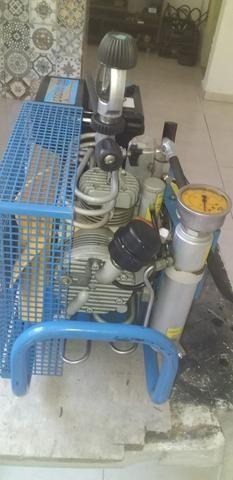 Compressor Semi-novo - MCH6 Elétrico Trifásico 220V 60hz - Foto 4