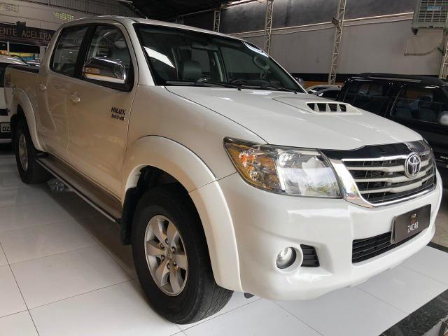 Toyota Hilux c.dupla 3.0 4x4 srv diesel automatica - Foto 2