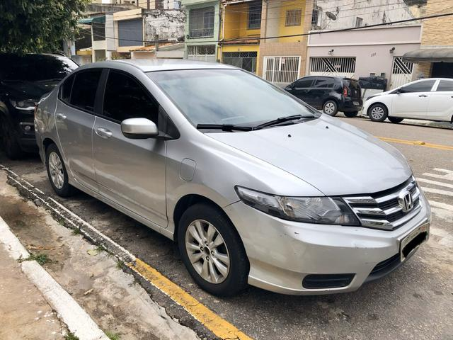 Honda City LX 1.5 Aut Prata - Foto 3