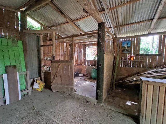 Velleda oferece terrenão c/ casa, galpão e arborizado em condomínio fechado - Foto 7