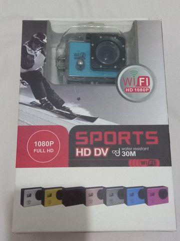 Câmera Sport com todos Acessórios - Foto 6