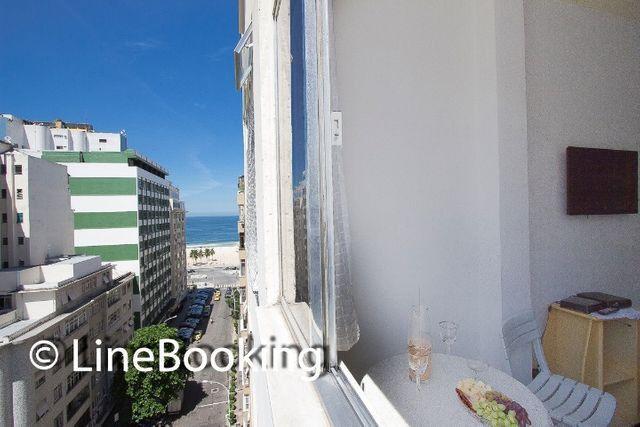 #034.CP.  Copacabana Studio Vista Mar,  - Foto 2