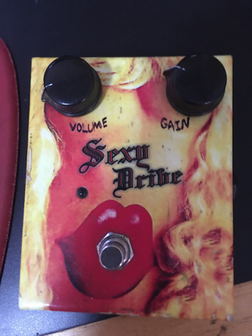 Pedal overdrive MG MUSIC