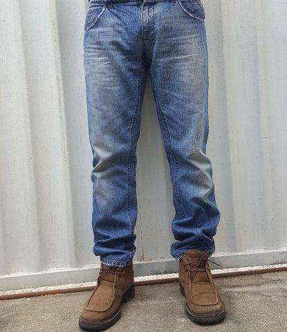 Calça jeans dolce&gabbana placa da marca - Foto 4
