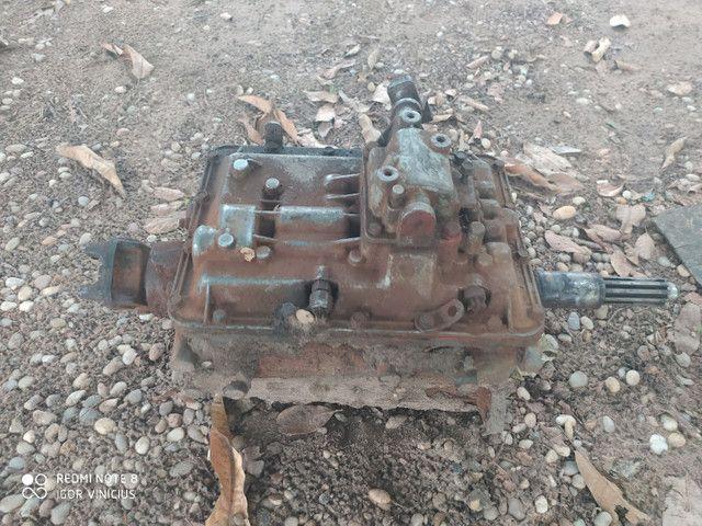 VENDO MOTOR 6CL MWM X10 TURBO E CAIXA DE MACHA DO FUSCÃO EATON 6 MACHA - Foto 3