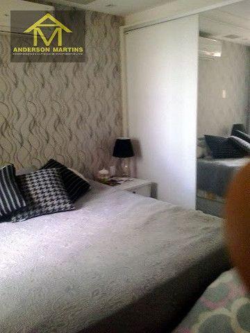 Código: 8575 D Apartamento 3 quartos na orla da Praia da costa Ed. Jackeline Jantorno - Foto 5