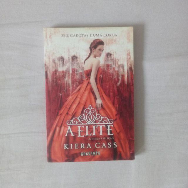 Livros - A Escolha e A Elite (Kiera Cass) - Foto 2