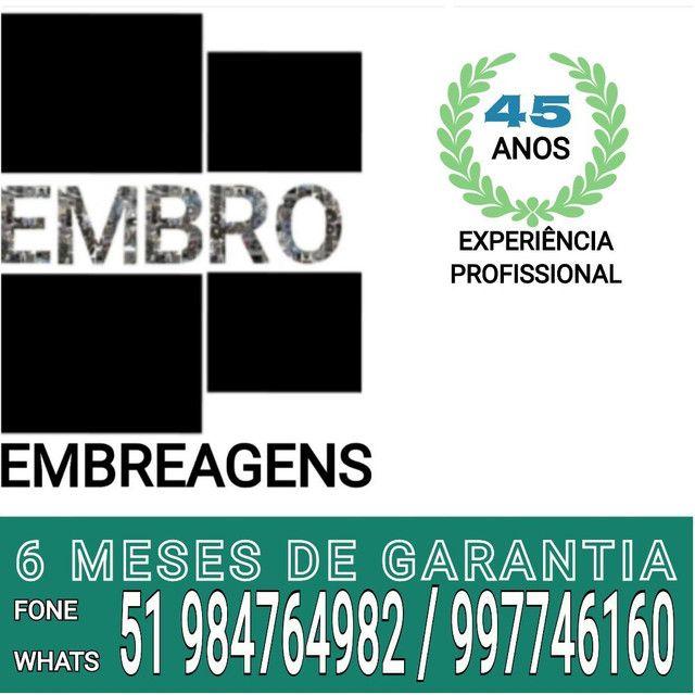 EMBREAGEM CAMINHÃO MERCEDES BENS, PLATO 430MM  - Foto 2