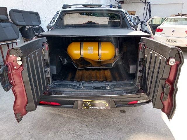 Fiat-Toro freedom 1.8 aut+Gnv Financiamos sem comprovação de renda - Foto 11