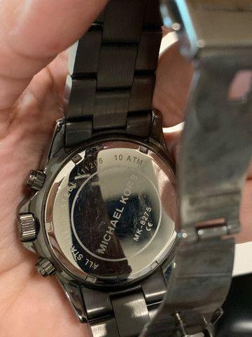 Relógio Michael Kors Chumbo - Foto 5
