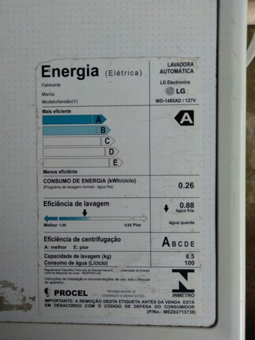 Máquina Lava e Seca LG Direct drive 8.5 4kg - Foto 3