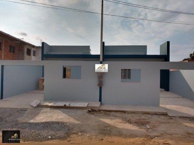 Casa com 02 quartos, localizar bairro praia linda, lado da lagoa em São Pedro