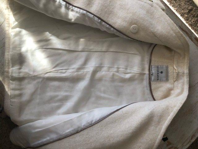 Casaco de lã Le Lis  Blanc  - Foto 2