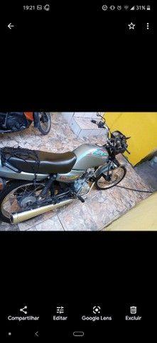 Moto CG 125 em dias com todos os Documentos - Foto 3