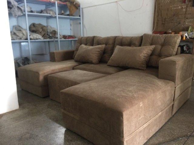 Sofá de luxo diretamente da Fábrica  - Foto 4