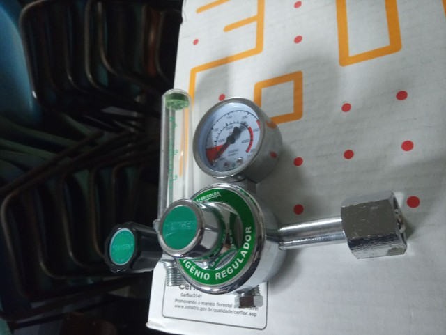 Regulador/manometro para oxigenio - Foto 2