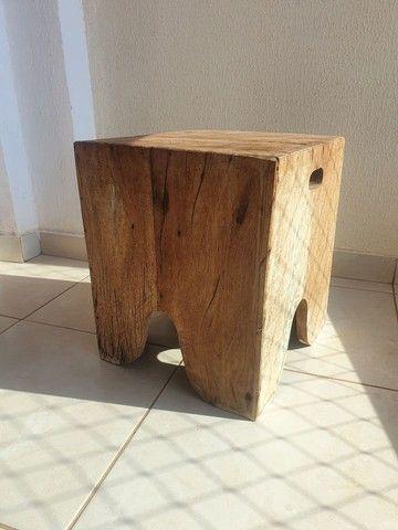 Vende-se banco/banqueta madeira rústica.  - Foto 5