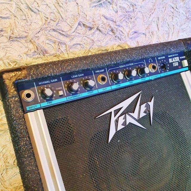 Amplificador para Guitarra Peavey Balser 158 USA - Usado - Somos Loja - Foto 3