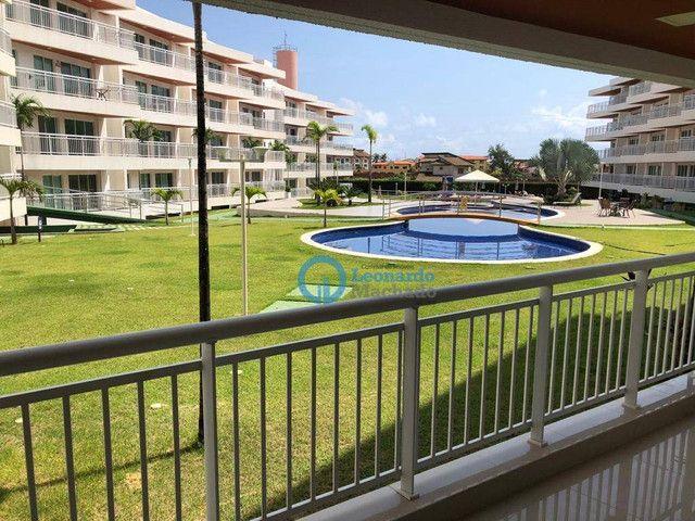 Apartamento com 3 dormitórios à venda, 110 m² por R$ 530.000 - Porto das Dunas - Aquiraz/C - Foto 14