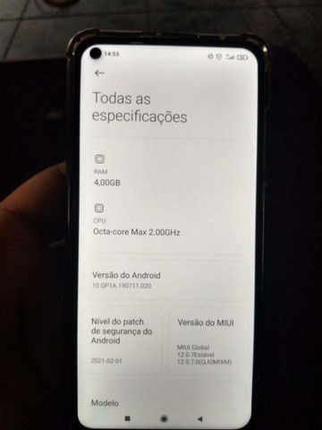 Redmi Note 9  - Foto 4