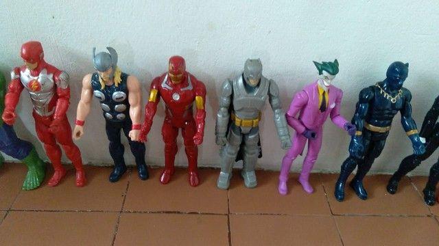 Coleção de bonecos da Marvel fone * - Foto 3