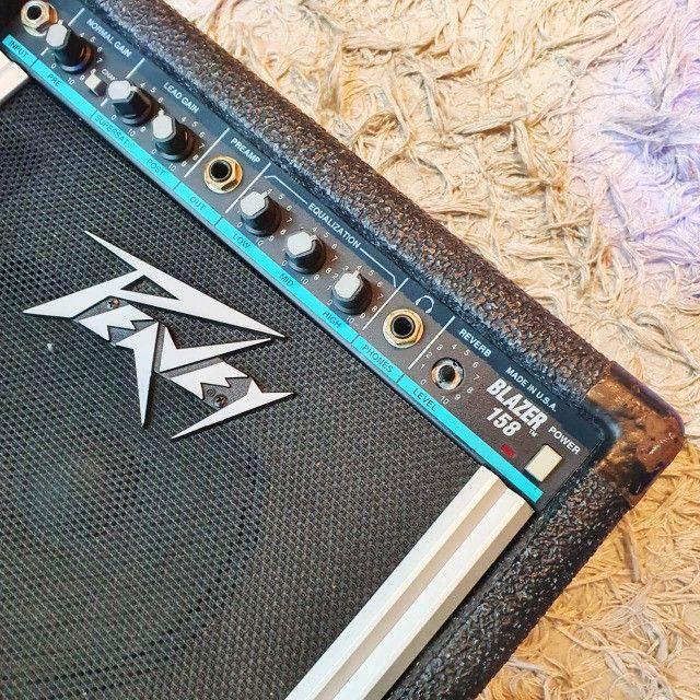 Amplificador para Guitarra Peavey Balser 158 USA - Usado - Somos Loja - Foto 4
