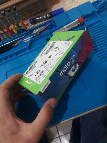 Celular Moto G5S Platinum XT1792 - Foto 2