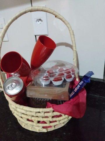 Cestas de chocolates para o dia dos namorados
