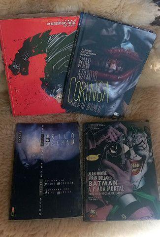 Coleção revistas quadrinhos dc Batmann e Coringa
