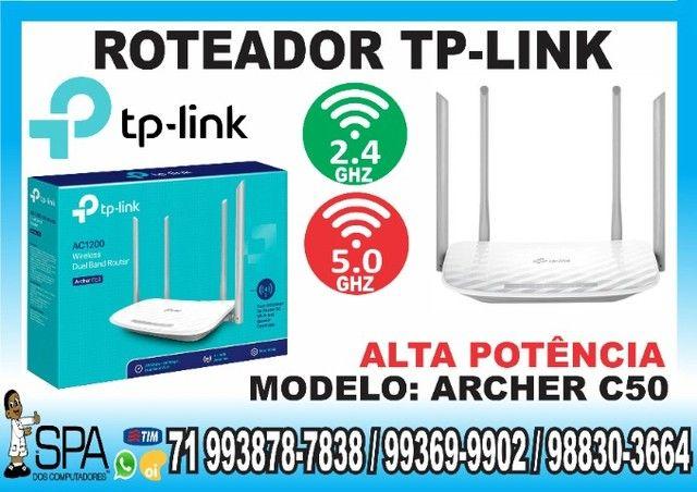 Roteador Tp-link 4 Antenas Dual Band Ac1200 Archer C50 (Novo e sem caixa)