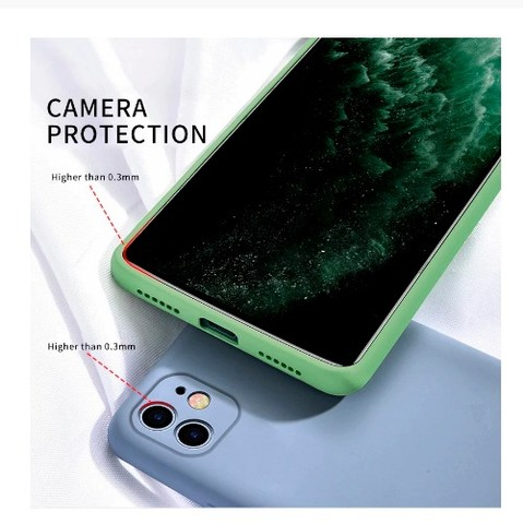 Capa (capinha) Silicone Premium iPhone 11 Proteção Câmera - Foto 3