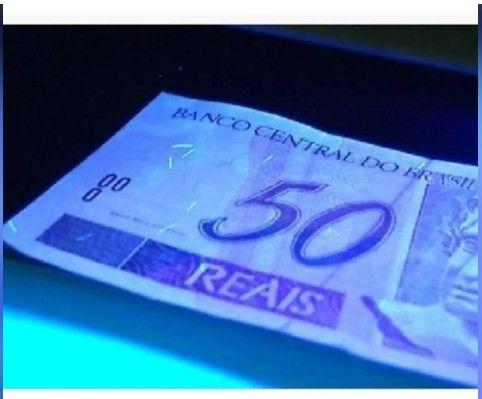 Identificador Notas Falsas Money Detector Cedulas Dinheiro - Foto 2