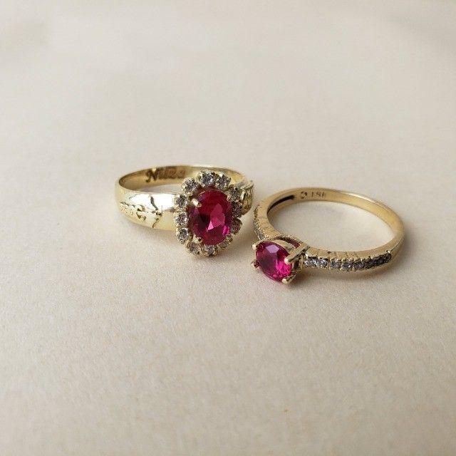Anéis de Formatura em Ouro 18klts