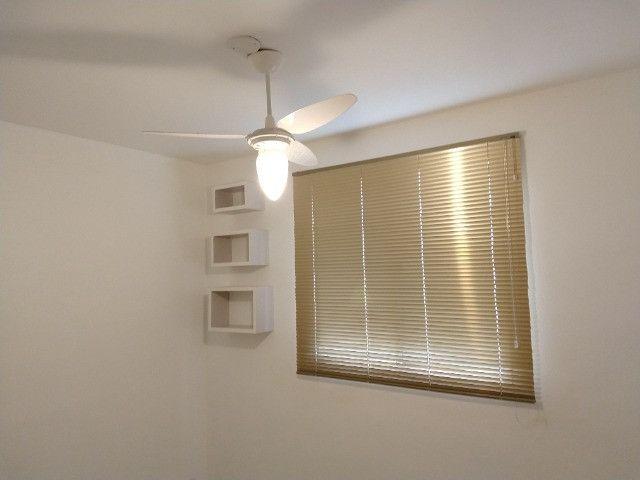 Vendo apartamento semimobiliado térreo 2 quartos - Foto 4