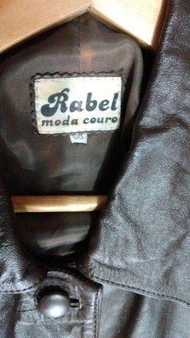 Jaqueta de ouro marrom Tam GG - Foto 3