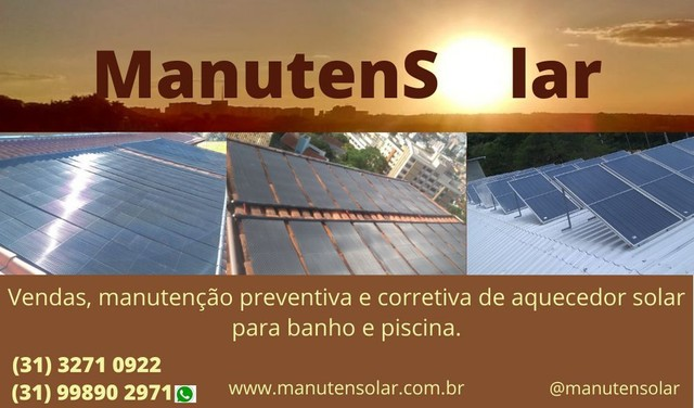 Prestação de serviços. Energia solar.