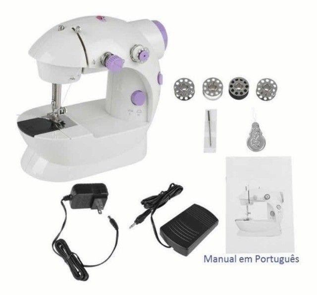 Mini Máquina De Costura Doméstica Portátil