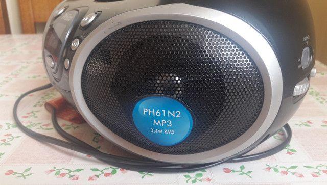 Vendo rádio portátil com CD Philco - Foto 3