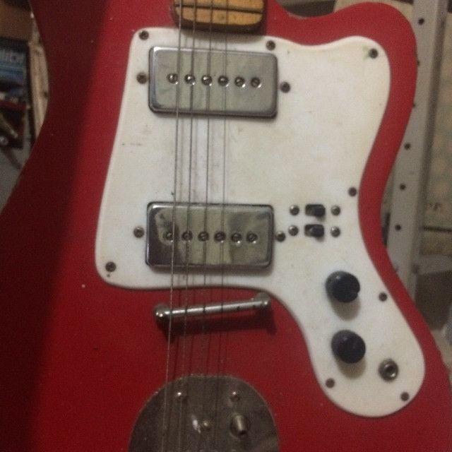 guitarra giannini antiga