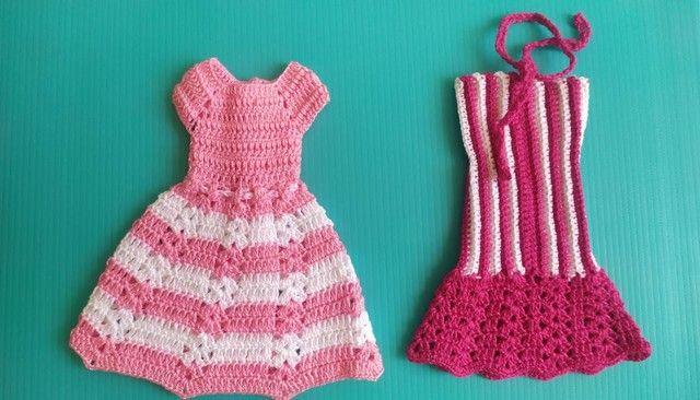 Roupinhas tamanho Barbie  - Foto 2