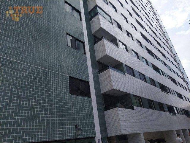 Apartamento com 3 dormitórios à venda, 72 m² por R$ 430.000,00 - Aflitos - Recife/PE - Foto 14