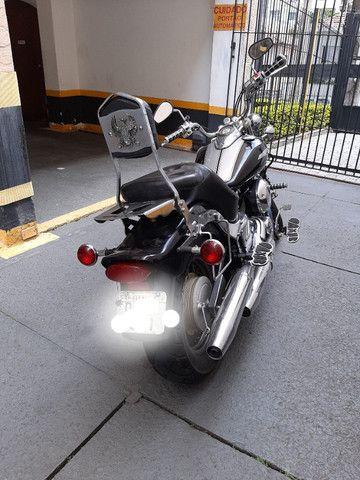 Yamaha drag star  2005 com 65.400KM - Foto 5