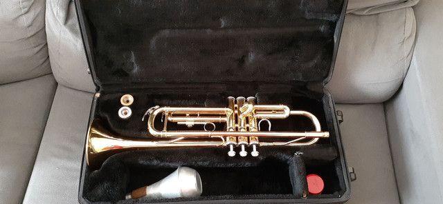 Trompete Yamaha -YTR 2335 - Dourado - Foto 2