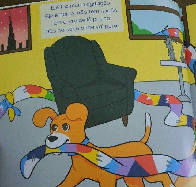 Livrinho infantil: O Cachorro Bin - Foto 4