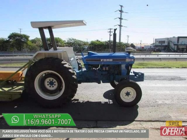 Trator Ford 4610 4x2 ano 81 - Foto 4
