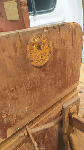 Balanças de Madeira Antiga - Foto 3